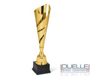 Coppa personalizzata con stampa a colori su targhetta per premiazioni