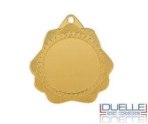 Medaglie per premiazioni sportive personalizzate online con stampa colori