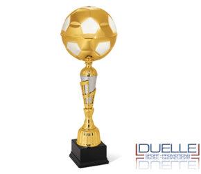 Coppa pallone da calcio per premiazioni sportive oro