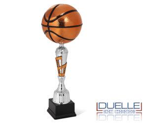 Coppa per premiazione sportiva pallone da Basket