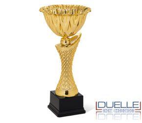 Coppe personalizzate economiche premiazioni colore oro