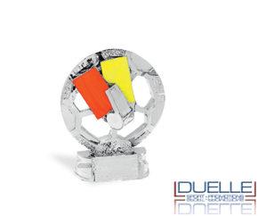 Trofeo sportivo personalizzato con arbitro online in resina