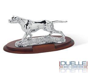 Trofeo per premiazioni caccia cane pointer personalizzato