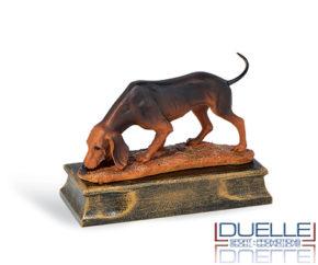 Trofeo per premiazioni caccia cane segugio personalizzabile online