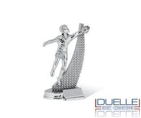 Trofeo sportivo personalizzato per premiazioni portiere