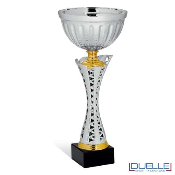 Coppe per premiazioni sportive argento
