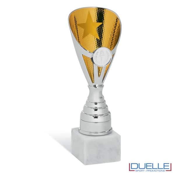 Coppa economica oro per premiazioni