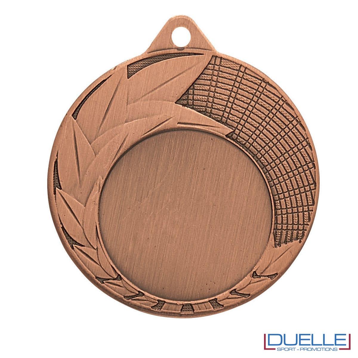 Medaglia premiazioni con foglie bronzo 50 mm