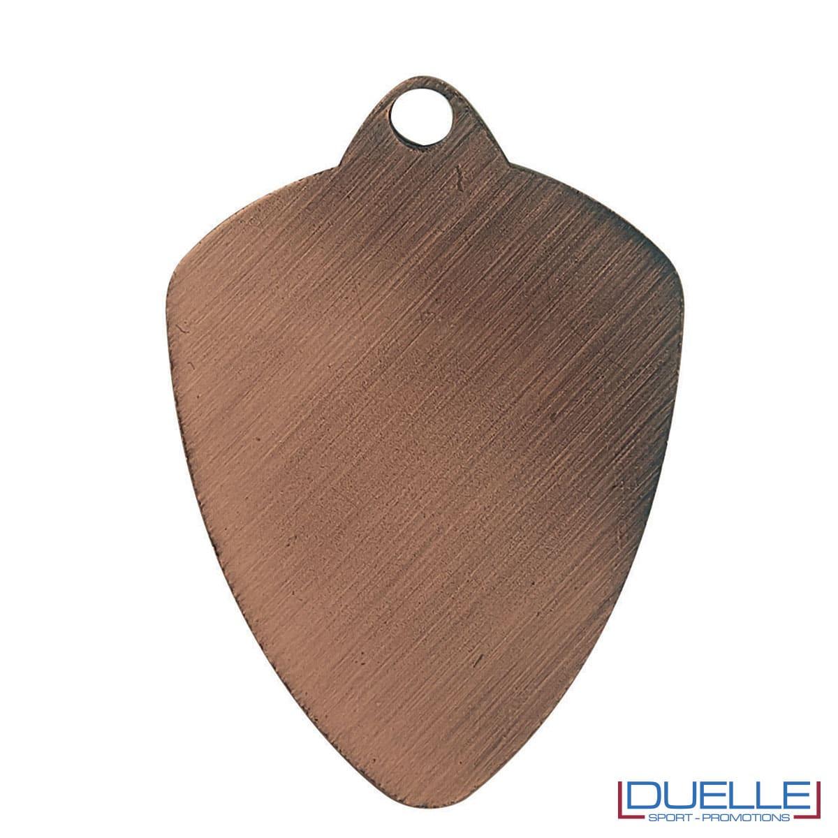 Medaglia a scudo bronzo retro