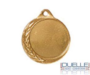 Medaglia personalizzata per premiazioni sportive colore oro diam.32