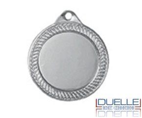 Medaglie per premiazioni online finitura argento diam.35