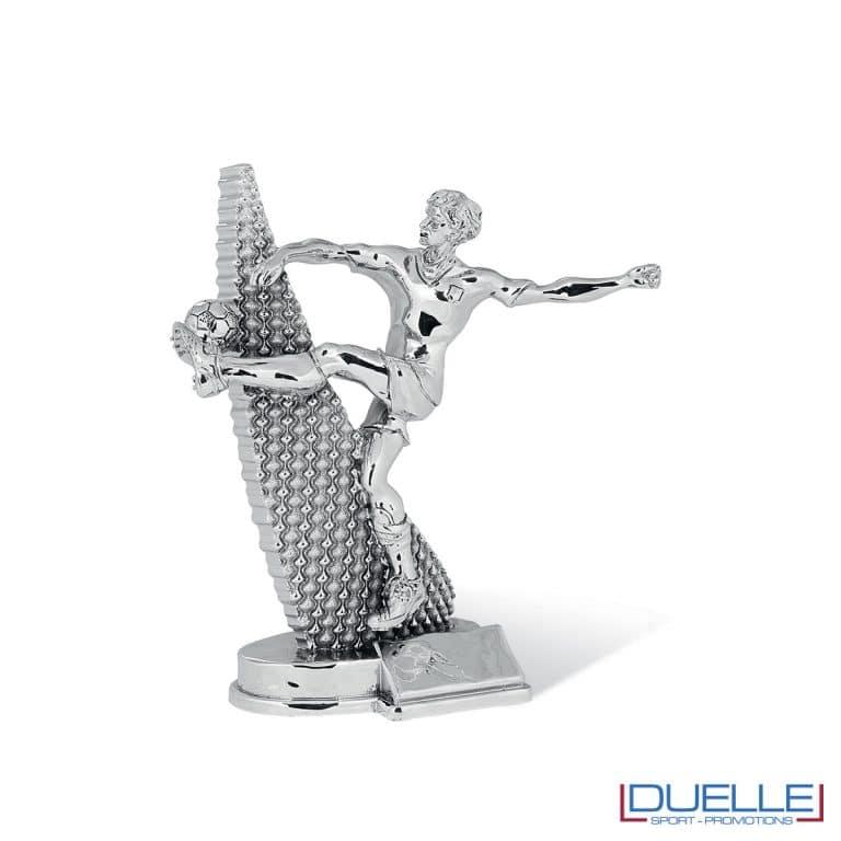 Calciatore silver personalizzabile