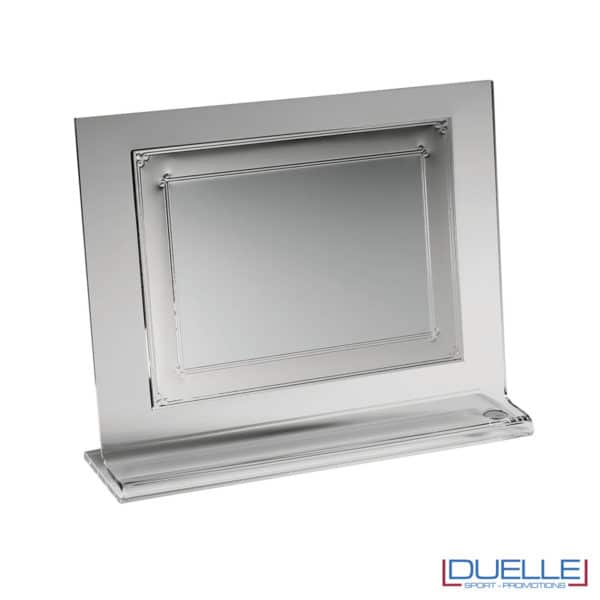 Supporto targa in plexiglass per sublimazione